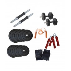 Deals, Discounts & Offers on Personal Care Appliances - Health Fit India 10kg Dumbbell Rods Home Gym Set