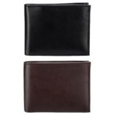 Deals, Discounts & Offers on Men - Rico Sordi Multicolour Formal Wallet - Pack Of 2