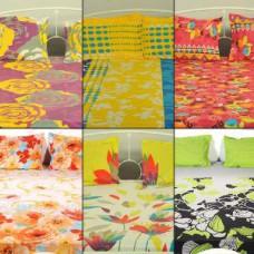 Deals, Discounts & Offers on Home Appliances - 6 Cotton Double Bedsheet Sets @ Rs.2599