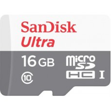 Deals, Discounts & Offers on Mobile Accessories - Sandisk Ultra 16 GB MicroSDHC Class 10 48 MB/s Memory Card