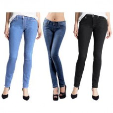 Deals, Discounts & Offers on Women Clothing - UGS Pack Of 3 Ladies Denim