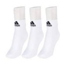 Deals, Discounts & Offers on Men - Adidas Men's Flat Knit Ankle Socks - Pack of 3 Pairs