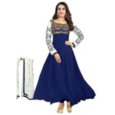 Deals, Discounts & Offers on Women Clothing - Surat Tex Semi-Stitched Salwar Suit