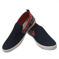 Deals, Discounts & Offers on Foot Wear - Evok Men's Blue Slip On Sneakers Shoes