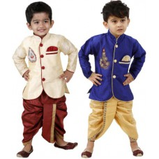 Deals, Discounts & Offers on Baby & Kids - FTCBazar Boy's Dhoti & Kurta Set