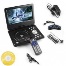 Deals, Discounts & Offers on Gaming - 9.8 3d DVD Player Portable Evd With USB Playback TFT Swivel Flip Screen Game