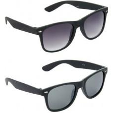 Deals, Discounts & Offers on Men - Hrinkar Combo Pack Wayfarer Sunglasses