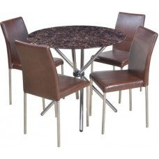 Deals, Discounts & Offers on Furniture - HomeTown Corral Metal Dining Set