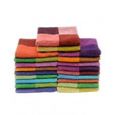 Deals, Discounts & Offers on Accessories - Rich Cotton Set of 20 Cotton Face Towel