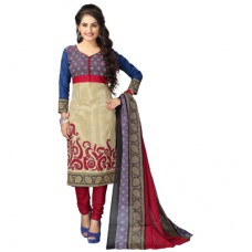 Deals, Discounts & Offers on Women Clothing - Vaamsi Maroon Unstitched Dress Material