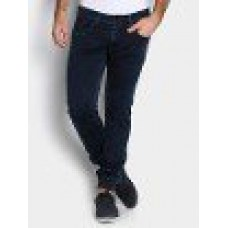 Deals, Discounts & Offers on Men Clothing - Basics Men Navy Regular Fit Jeans