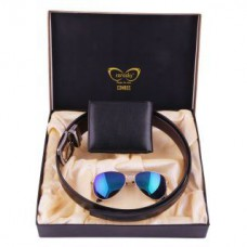 Deals, Discounts & Offers on Men - Vorosky MenS Corporate Combo With Sunglasses at 85% OFF