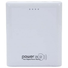 Deals, Discounts & Offers on Power Banks - Power Ace White Rapid Power 10400 mAh Dual USB Power Bank