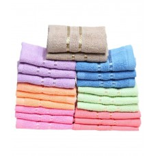Deals, Discounts & Offers on Home Appliances - Flat 52% off on Towel Town Set of 20 Cotton Face Towel