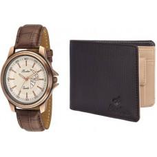 Deals, Discounts & Offers on Men - Britex Men, Boys Brown Genuine Leather Wallet