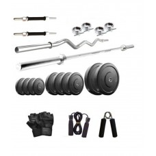 Deals, Discounts & Offers on Sports - Health Fit India Exercise Home Gym Set 25kg