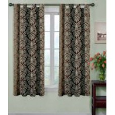 Deals, Discounts & Offers on Home Decor & Festive Needs - Trendy Home Set of 2 Window Polyester Curtain