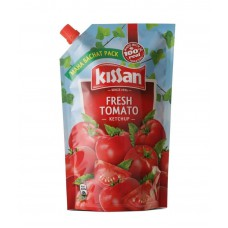 Deals, Discounts & Offers on Food and Health - Kissan Fresh Tomato Ketchup Doy Pack (1000 g)