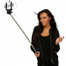 Deals, Discounts & Offers on Cameras - Pluto Plus Selfie Stick with Bluetooth Remote