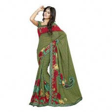 Deals, Discounts & Offers on Women Clothing - Sarees & Dress Material Starting At Rs.270