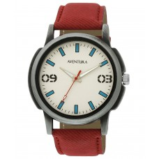 Deals, Discounts & Offers on Men - Aventura Youth Analog Off-White Dial Unisex Watch