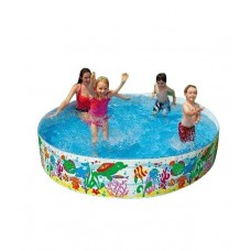Deals, Discounts & Offers on Gaming - Intex Fun Swimming Pool - 6 Feet