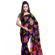 FashionandYou Offers and Deals Online - Flat 65% off on Brijraj Poly Georgette  Beautiful Printed Saree