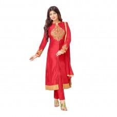 Craftsvilla Offers and Deals Online - Fl;at 56% off on Zaparia International Embroidered Cotton Salwar Suit