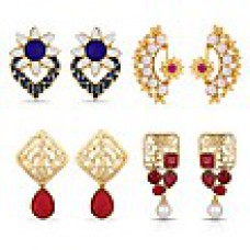 Deals, Discounts & Offers on Women - Beautiful Designer Combo of 4 Earrings at Rs 699 only
