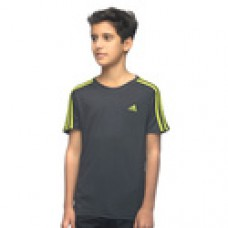 Deals, Discounts & Offers on Baby & Kids - BOYS' ADIDAS TRAINING ESSENTIALS 3STRIPES CR TEE