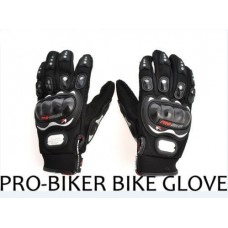 Deals, Discounts & Offers on Car & Bike Accessories - Pro Biker Leather Motorcycle Gloves offer