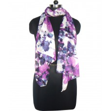 Deals, Discounts & Offers on Women Clothing - Anuze Fashions Purple Cotton Scarves