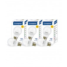 Deals, Discounts & Offers on Home Decor & Festive Needs - Crompton 7W (Pack of 3) Cool day LED Bulb