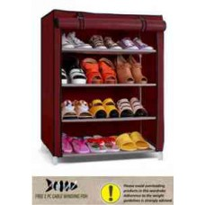 Deals, Discounts & Offers on Furniture - PINDIA 4 Layer Foldable Shoe Rack