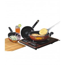 Deals, Discounts & Offers on Home & Kitchen - Milton Ultra Black Induction Cookware Set