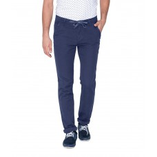 Deals, Discounts & Offers on Men Clothing - Flat 65% off on Mufti Blue Casual Trouser