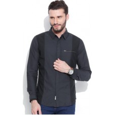 Deals, Discounts & Offers on Men Clothing - United Colors of Benetton Men's Solid Casual Shirt