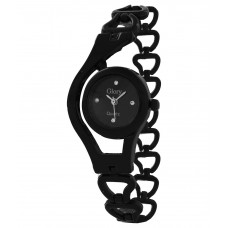 Deals, Discounts & Offers on Accessories - Glory Black Fancy Ladies Watch offer