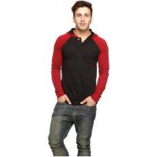 Deals, Discounts & Offers on Men Clothing - Gritstones Full Sleeve Solid Men's Sweatshirt offer