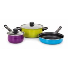 Deals, Discounts & Offers on Home Appliances - Klassic Vimal 5 Pcs Non Stick Cookware Set