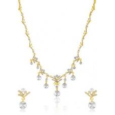 Deals, Discounts & Offers on Women - Oviya Snowflake Alloy Jewel Set