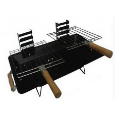 Deals, Discounts & Offers on Home Appliances - Ovastar Square Charcoal BBQ Grill at Rs 773 only