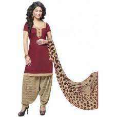 Deals, Discounts & Offers on Women Clothing - Miraan Cotton Printed Salwar Suit Dupatta Material