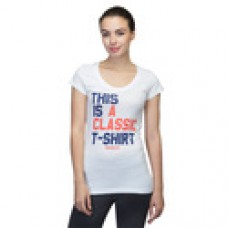 Reebok Offers and Deals Online - WOMEN'S REEBOK CASUAL GRAPHIC TEE