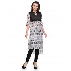 Deals, Discounts & Offers on Women Clothing - Cenizas Women's Straight Kurtas offer