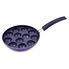 Deals, Discounts & Offers on Home & Kitchen - Tosaa Non-Stick 12 Cavity Appam Patra with Handle