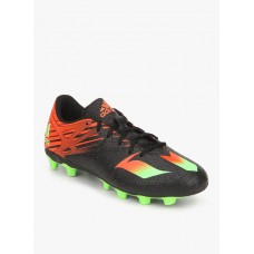 Deals, Discounts & Offers on Sports - Adidas Messi 15.4 Fxg Black Football Shoes