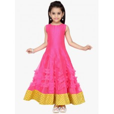 Deals, Discounts & Offers on Baby & Kids - Flat 50% off on K&U Pink Casual Dress