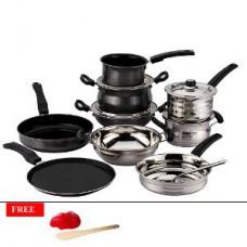 Deals, Discounts & Offers on Home Appliances - Mahavir 10 Pc Non-stick Cookware Set