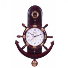 Deals, Discounts & Offers on Home Decor & Festive Needs - Flat 70% offer on Plaza Pendulum Wall Clock